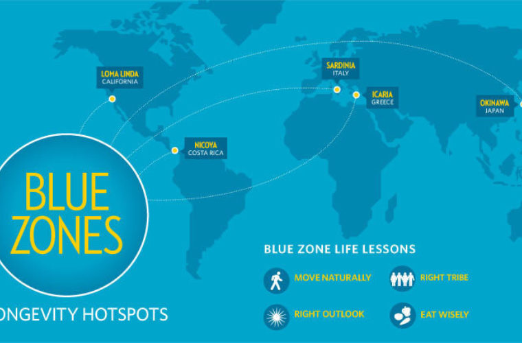 9 lessons from the world's Blue Zones on living a long, healthy life