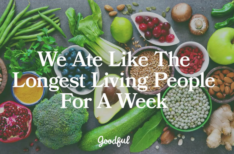 We Ate Like The Longest Living People for a Week